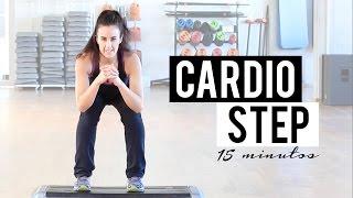RUTINA DE CARDIO CON STEP | 15 MINUTOS