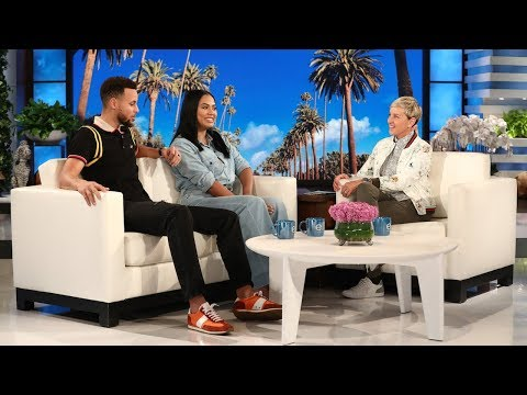 Xxx Mp4 Can Ellen Get Steph Ayesha Curry To Reveal Their Baby S Gender 3gp Sex