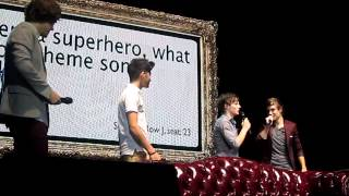 One Direction Super hero theme Songs- Susquehanna Bank Center