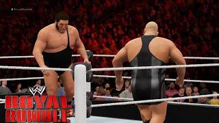 WWE 2K16 - 30 man-Royal Rumble  2016 Match Gameplay - Full Match  WWE 2K16 gameplay