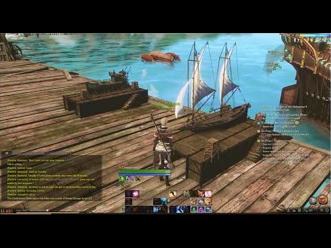 archeage Construindo um barco building ship tutorial HD