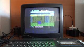 Spectrum 128K en funcionamiento