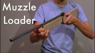 How To Make A Muzzle Loader (LEGAL) (DO NOT ATTEMPT)