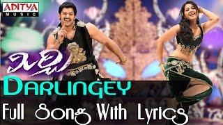 Darlingey Full Song With Lyrics  || Mirchi Movie Songs || Prabhas, Anushka