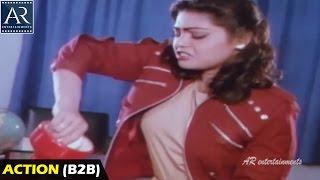 Lady James Bond Movie Action Scenes Back to Back   Silk Smitha, Vinod Kumar   AR Entertainments