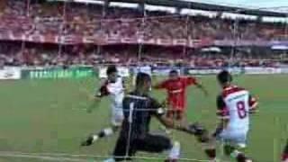 Brasileirão 2007: América-RN 0 x 1 Flamengo