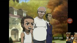 We reactin to thugnifficent (boondocks)