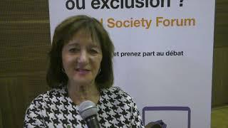 Orange Digital Society Forum : Interview avec Soumaya Naamane Guessous, Sociologue et Professeur