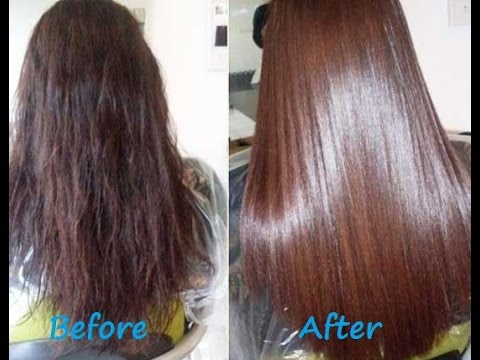 DIY How to Get Smooth,Silky hair at Home -Get Thick Hair and Prevent Hair Loss