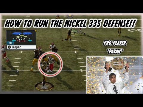 Xxx Mp4 How Pavan Won The Madden Club Championship Pro Madden Player 39 S Use This Nickel 335 Normal Defense 3gp Sex