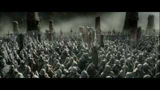 Orcs march on Minas Tirith