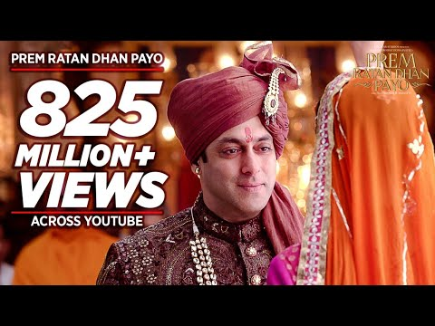 Xxx Mp4 PREM RATAN DHAN PAYO Title Song Full VIDEO Salman Khan Sonam Kapoor Palak Muchhal T Series 3gp Sex