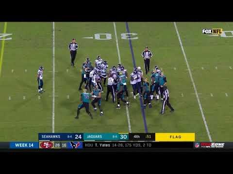 Seahawks vs. Jaguars Fight NFL