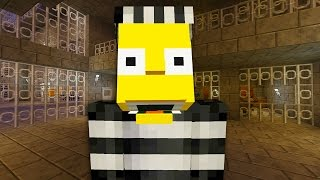 Bart Simpson Escapes From Prison    The Simpsons    Minecraft Xbox [49]