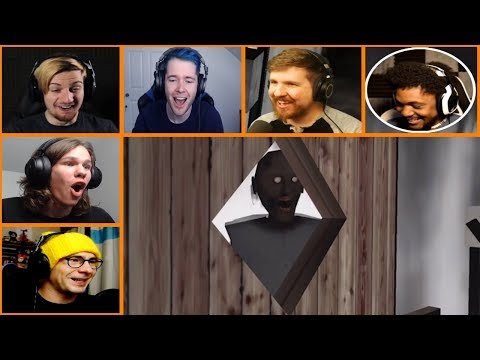 Let's Players Reaction To Locking Granny In The Sauna | Granny