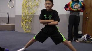 Eager Young Bboy Students