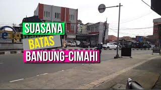 Batas Kota Cimahi-Bandung Ramai, Pengendara Sebut Suasananya Sudah Seperti Normal
