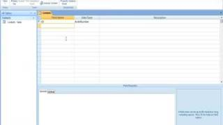 Microsoft Access 2007 Tutorial