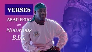 """A$AP Ferg on The Notorious B.I.G.'s """"Suicidal Thoughts""""   VERSES"""