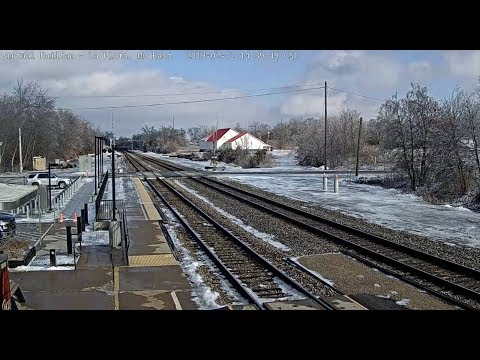 La Plata Missouri USA Virtual Railfan LIVE