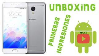 Unboxing del meizu m3 note en español (GearBest-Mexico)