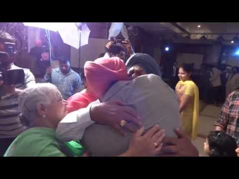 Brother surprise his sister and parents on  Sister's Ring Ceremony(Punjabi)