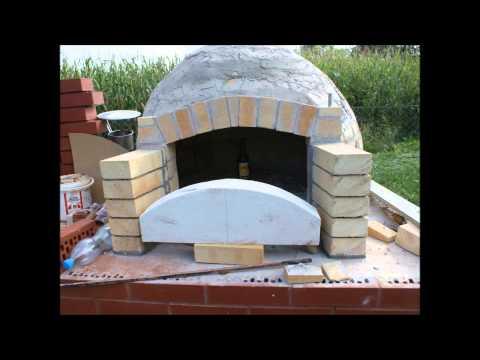 Budowa wędzarni i rzymskiego pieca chlebowego w Olzie