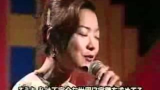 Keiko Toge imitating Karen Carpenter with Richard's blessing