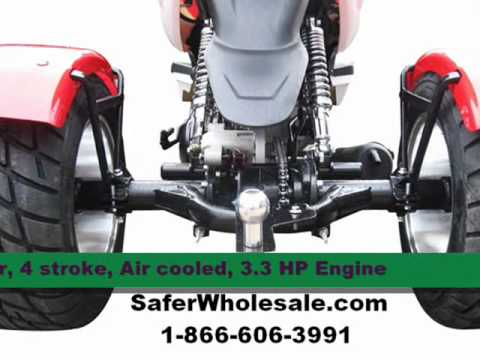 50cc Trike Scooter For Sale