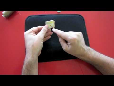 Magia giochi di prestigio banconota in mano tutorial