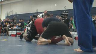 Rear Naked Choke - Tony Senner vs. a Giant Opponent - BJJ - Submission Grappling