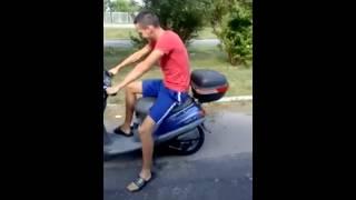 Un motorino 50cc portato 800cc