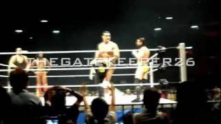 Entrada de CM Punk, Alberto del Rio, Kofi Kingston y Big Show [Mayo 13, 2011]