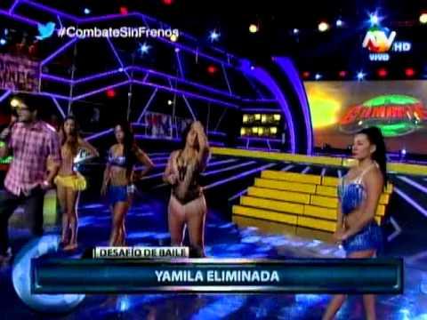 COMBATE Desafio de baile de mujeres 10 03 2015