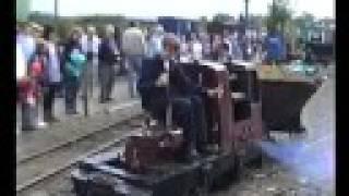 Leighton Buzzard Railway Ruston Diesel 'Sarah'.