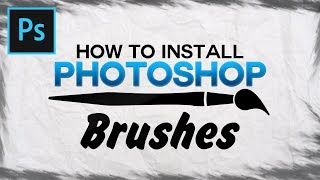 Photoshop CC/CS6: How To Install Brushes (Download Abstract and Other Brushes)