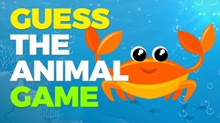 Guess What the Animal is with Zaky - Sea Creatures