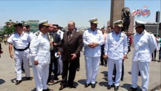 أخبار اليوم   مدير امن القاهرة يتفقد الخدمات فى اول ايام العيد