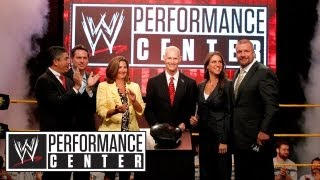 The WWE Performance Center opening day press conference