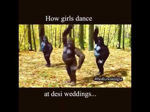 How Girls Dance At Desi Wedding.. :D