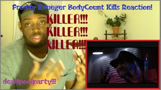A Nightmare On Elm Street Deaths Every Kill By Freddy Reaction