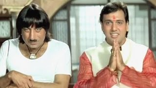 Govinda, Karishma Kapoor, Shakti Kapoor, Raja Babu - Comedy Scene 7/21