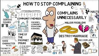 HOW TO STOP COMPLAINING - Abu Usamah Animated