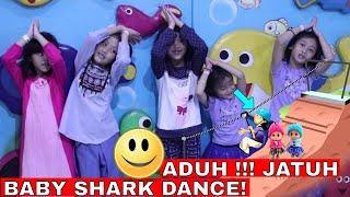 ADUH! Niala Jatuh Flying fox Lifia dan Niala Baby Shark Song Challenge