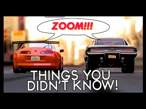 Xxx Mp4 7 Things You Probably Didn't Know About The Fast Furious 3gp Sex