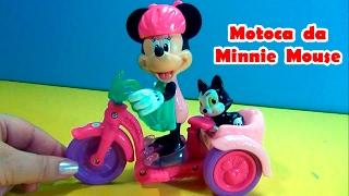 Minnie Mouse na Motoca - Minnie e Fígaro