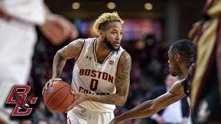 Ky Bowman Leads Boston College to Victory