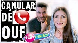 CANULAR EXTREME : Sur Fun Radio ! (canular téléphonique) - Lufy et Enzo