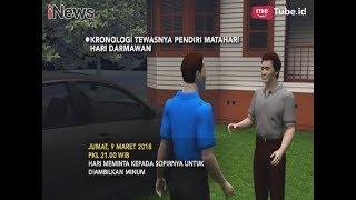 Inilah Kronologis Kematian Bos Matahari Store, Hari Darmawan - iNews Sore 10/03