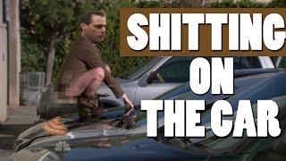 SHI**ING ON THE CAR